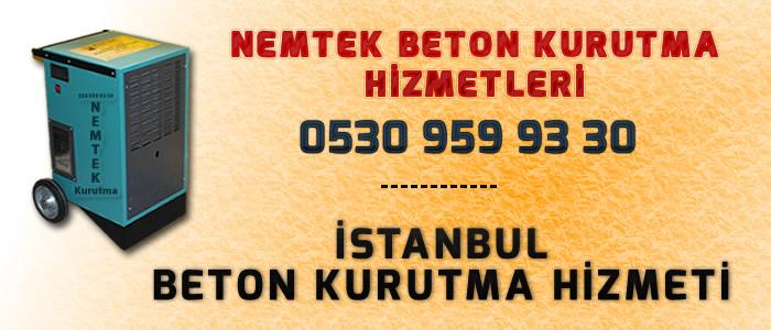 İstanbul Beton Kurutma Hizmeti