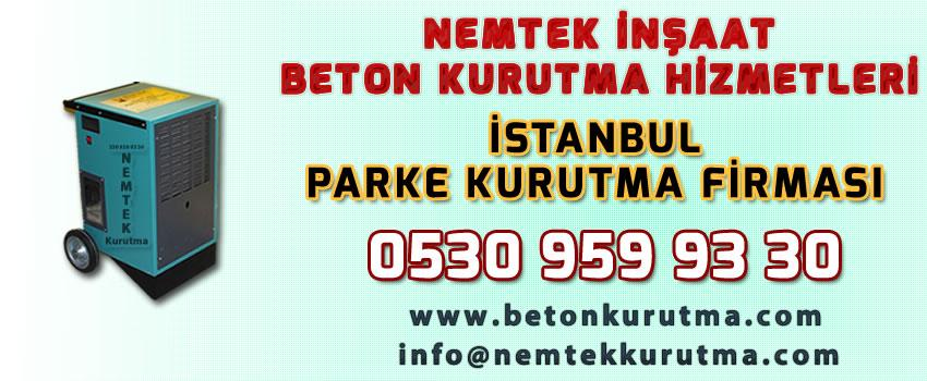 İstanbul Parke Kurutma Firması